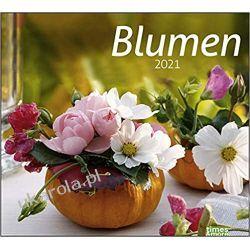 Kalendarz Kwiaty Flowers 2021 Calendar Zestawy, pakiety