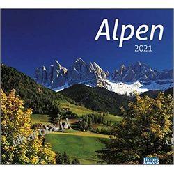 Kalendarz Alpy The Alps 2021 Calendar