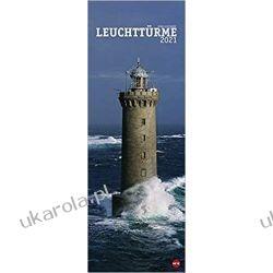 Kalendarz Latarnie Morskie Lighthouses 2021 Calendar Książki i Komiksy