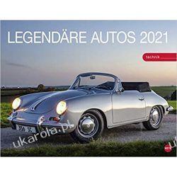 Kalendarz Samochody Legendary cars 2021 Calendar Książki i Komiksy