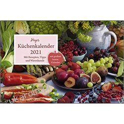 Kalendarz Kuchnia Kitchen calendar 2021 Książki i Komiksy