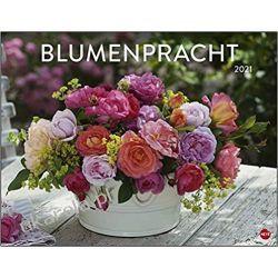 Kalendarz Kwiaty Floral splendor poster calendar 2021 Książki i Komiksy