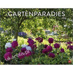 Kalendarz Rajskie Ogrody Garden paradise poster calendar 2021 Książki i Komiksy