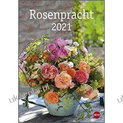 Kalendarz Róże Rose splendor calendar 2021 Calendar Książki i Komiksy