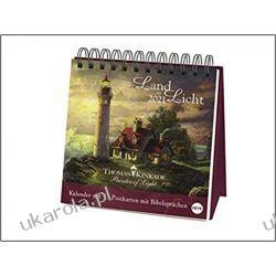 Kalendarz Biurkowy Kinkade Postcard Art Calendar 2021 Pozostałe