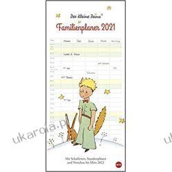 Kalendarz Rodzinny Organizer Mały Książę The Little Prince family planner 2021 Calendar Książki i Komiksy