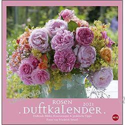 Kalendarz Róże Rose fragrance calendar 2021 Książki i Komiksy