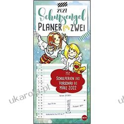Kalendarz Guardian angel planner for two 2021 Calendar Książki i Komiksy