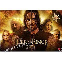 Kalendarz Władca Pierścieni The Lord of the Rings brochure XL Calendar 2021