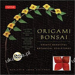 Origami Bonsai Kit: Create Beautiful Botanical Sculptures! Książki i Komiksy