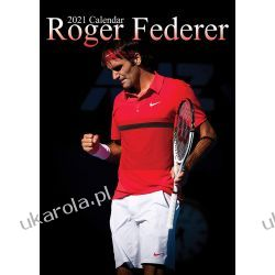 Kalendarz Roger Federer 2021 Calendar A3