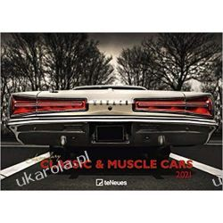 Kalendarz Legendary Classic & Muscle Cars 2021 Calendar klasyczne samochody