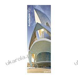 Kalendarz Architecture 2021 King Size Calendar architektura budowle Kalendarze ścienne