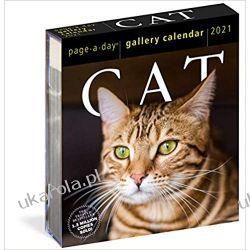 2021 Cat Page-A-Day Gallery Calendar koty Pozostałe