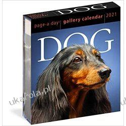 2021 Dog Page-A-Day Gallery Calendar psy Pozostałe