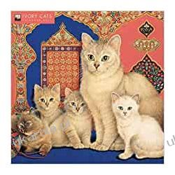 Ivory Cats by Lesley Anne Ivory Wall Calendar 2021 (Art Calendar) by Flame Tree Studio