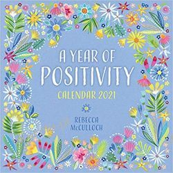 A Year of Positivity by Rebecca McCulloch Wall Calendar 2021