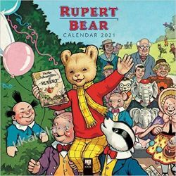 Rupert Bear Wall Calendar 2021  Naukowe i popularnonaukowe