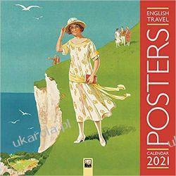 English Travel Posters Wall Calendar 2021