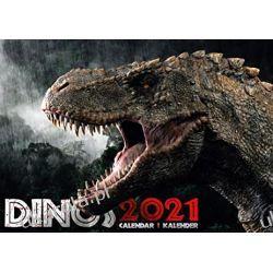 Kalendarz Dinos 2021 Dinosaurs Calendar dinozaury