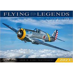 Flying Legends 2021 Calendar lotnictwo Lotnictwo