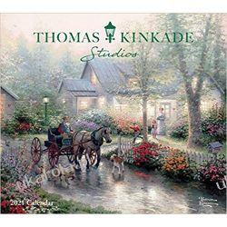 Thomas Kinkade Studios 2021 Deluxe Wall Calendar Kalendarze ścienne