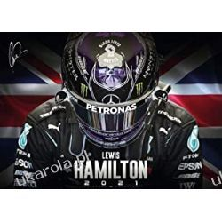 Lewis Hamilton 2021 Calendar  Książki i Komiksy