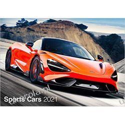 Sports Cars 2021 Calendar sportowe samochody Książki i Komiksy