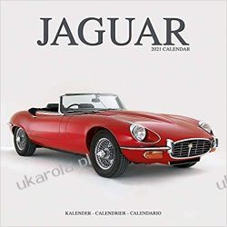 Jaguar 2021 Calendar Książki i Komiksy