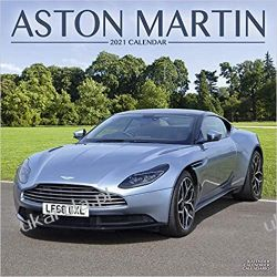Aston Martin 2021 Calendar Książki i Komiksy