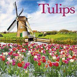 Kalendarz Tulipany Tulips 2021 Calendar Kalendarze książkowe
