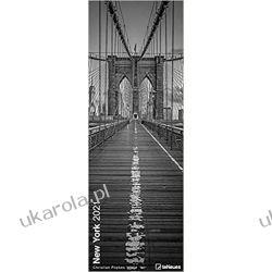 Kalendarz Nowy Jork New York 2021 King Size Calendar