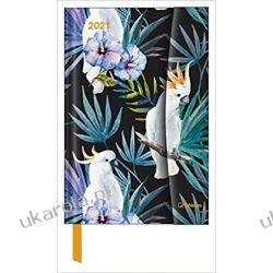 Jungle 2021 Small Magneto Diary 10x15 Calendar Kalendarze książkowe