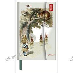 Alice in Wonderland 2021 Small Magneto Diary 10x15 calendar Kalendarze książkowe