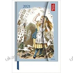 Alice in Wonderland 2021 Large Magneto Diary 16x21 calendar Kalendarze książkowe