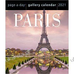 Kalendarz biurkowy Paris Page-A-Day Gallery Calendar 2021 Pozostałe