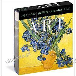 Art Page-A-Day Gallery Calendar 2021 sztuka Książki i Komiksy