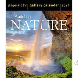 Audubon Nature Page-A-Day Gallery Calendar 2021 piękna natura Pozostałe