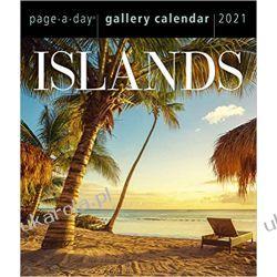 Islands Page-A-Day Gallery Calendar 2021 rajskie wyspy Pozostałe
