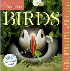 Audubon Birds Page-A-Day Calendar 2021 ptaki Pozostałe