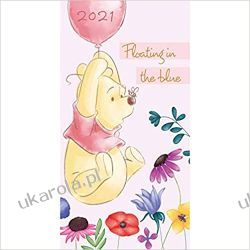 Official Winnie The Pooh 2021 Diary Slim Diary calendar kubuś puchatek Pozostałe
