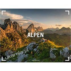 Ogromny kalendarz ścienny Góry Alpen 2021 Calendar Alpy Książki i Komiksy