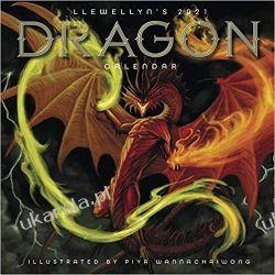 Kalendarz Llewellyn's 2021 Dragon Calendar