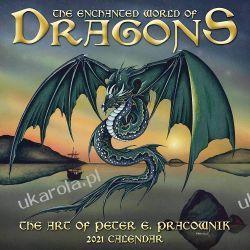 The Enchanted World of Dragons Calendar 2021 smoki Pozostałe