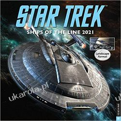 Star Trek Ships of the Line 2021 Calendar Zagraniczne