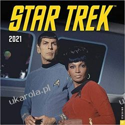 Star Trek 2021 Calendar  Książki i Komiksy