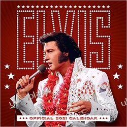 Official Elvis 2021 Calendar  Książki i Komiksy