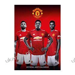 Official Manchester United 2021 Calendar - A3 Wall Format Calendar  Książki i Komiksy