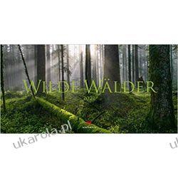 Kalendarz Las Drzewa Wilde Wälder 2021 Forest Calendar Książki i Komiksy