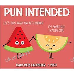 Kalendarz Pun Intended 2021 Box Calendar Kalendarze książkowe